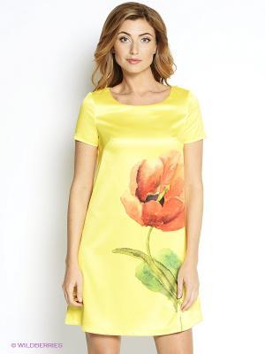 Платье Наталья Новикова. Цвет: желтый