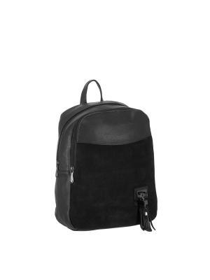 Рюкзак 5752A искусственная кожа Sofiya. Цвет: черный