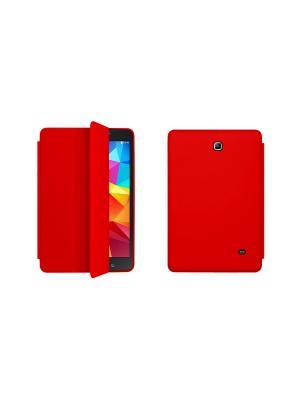 Чехол-книжка Tim для Samsung Galaxy Tab 4 8.0. Красный With Love. Moscow. Цвет: красный