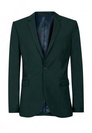 Пиджак Topman. Цвет: зеленый