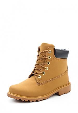 Ботинки Bellamica. Цвет: коричневый