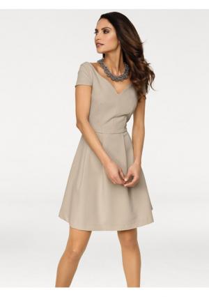 Платье Ashley Brooke. Цвет: серо-коричневый