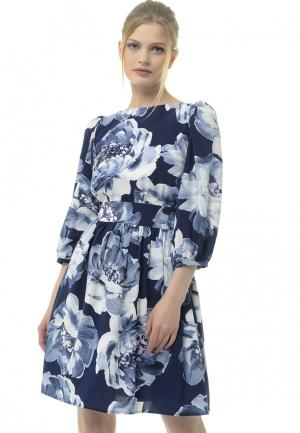Платье Arefeva. Цвет: синий