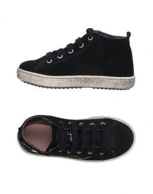Высокие кеды и кроссовки NATURINO. Цвет: черный
