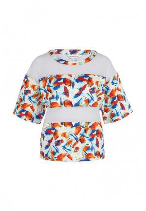 Блуза BCBGeneration. Цвет: разноцветный
