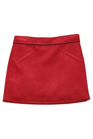 Юбка Vitacci. Цвет: бордовый