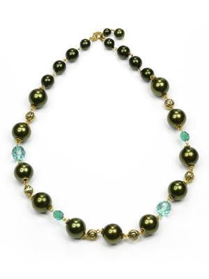 Ожерелье Bohemia Style. Цвет: зеленый
