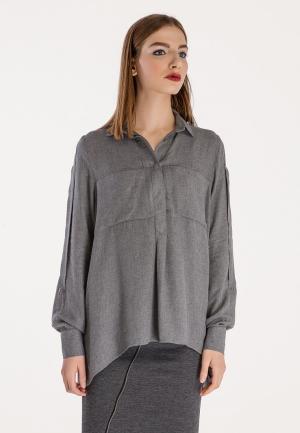 Блуза Stimage. Цвет: серый