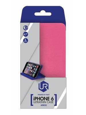 Аксессуары для планшетов 20118  Trust Aeroo Ultrathin Cover stand for iPhone 6 / розовый. Цвет: розовый