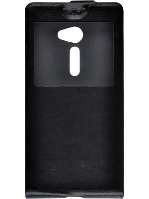 Флип-кейс Asus Zenfone 2 5 skinBOX. Цвет: черный