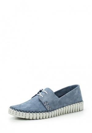 Ботинки Darkwood. Цвет: голубой
