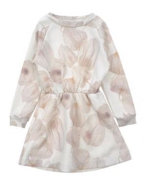 Платье POPUPSHOP. Цвет: светло-серый
