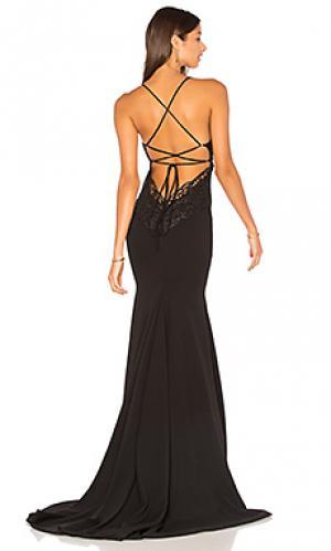Вечернее платье jay and co Gemeli Power. Цвет: черный