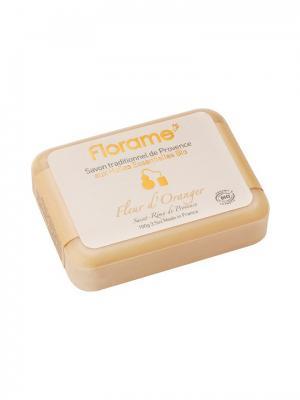 Florame Мыло  Флер ДОранж , Полимерная Упаковка 100 Г. Цвет: желтый