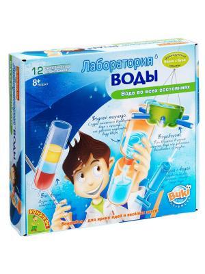 Французские опыты Науки с Буки Bondibon  (12 экспериментов) Лаборатория воды , арт. 2050. Цвет: голубой