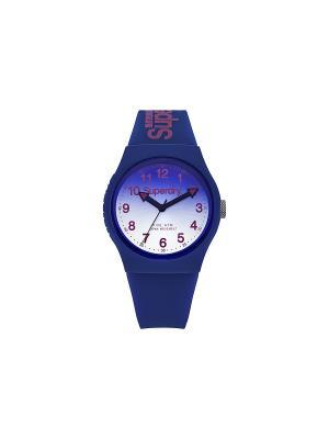 Часы Superdry. Цвет: синий