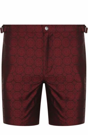 Плавки-шорты с карманами La Perla. Цвет: бордовый