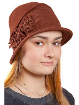 Шляпа Бонита Three S. Цвет: коричневый