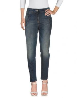Джинсовые брюки GUNEX. Цвет: синий