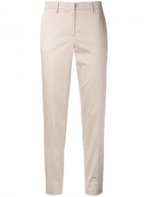 Костюмные брюки Fabiana Filippi. Цвет: телесный