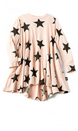 Платье 360 star Nununu. Цвет: румянец