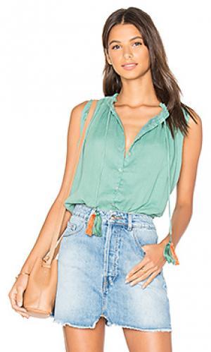 Блузка miranda Carolina K. Цвет: зеленый