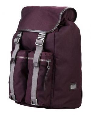 Рюкзаки и сумки на пояс DOLCE & GABBANA. Цвет: баклажанный