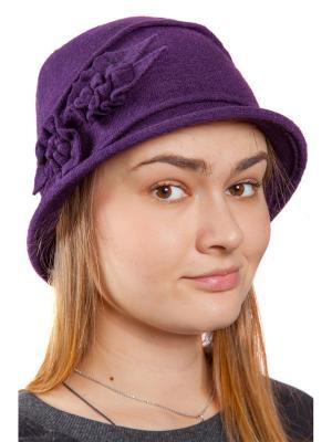 Шляпа Бонита Three S. Цвет: сливовый