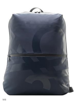 Рюкзак United Colors of Benetton. Цвет: лазурный, синий