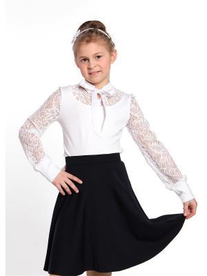Блузка 80 LVL. Цвет: белый