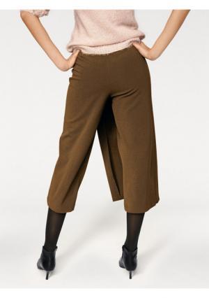 Юбка-брюки PATRIZIA DINI. Цвет: серо-коричневый, черный