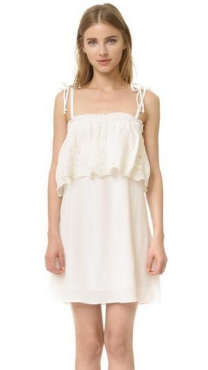 Платье Muriel Stone Cold Fox. Цвет: белый