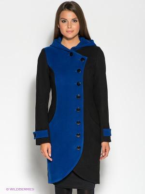Пальто DOCTOR E. Цвет: черный, синий