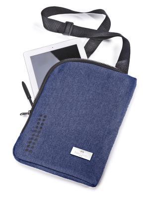 Сумка для планшета Grip, в целофане, 1 шт., синий Faber-Castell. Цвет: синий