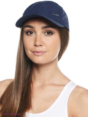Бейсболка Y NK H86 CAP METAL SWOOSH Nike. Цвет: темно-синий, синий