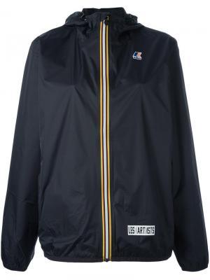 Куртка с капюшоном Les (Art)Ists. Цвет: чёрный