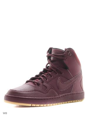 Кроссовки SON OF FORCE MID WINTER Nike. Цвет: красный