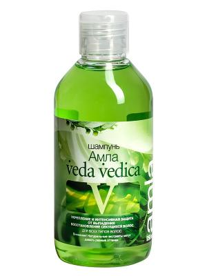 Шампунь для волос Амла Veda Vedica. Цвет: зеленый