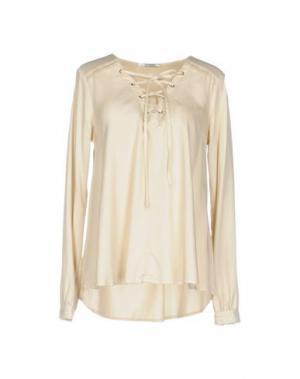 Блузка FAIRLY. Цвет: бежевый