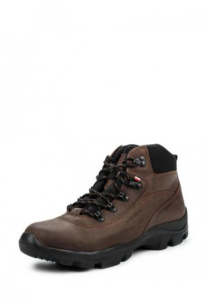 Ботинки трекинговые Wojas. Цвет: коричневый