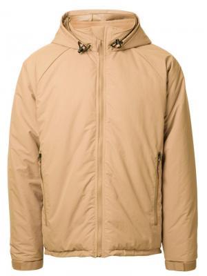 Спортивная куртка Primaloft Soe. Цвет: коричневый
