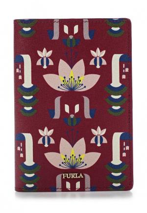 Обложка для документов Furla. Цвет: бордовый