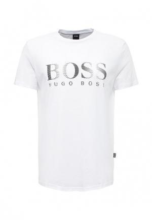 Футболка Boss Hugo. Цвет: белый