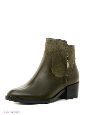 Ботинки BELWEST. Цвет: оливковый