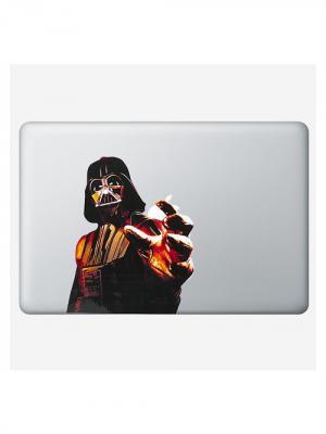 Наклейка для Macbook Air / Pro Darth Vader (13 дюймов (диагональ экрана)) Kawaii Factory. Цвет: черный