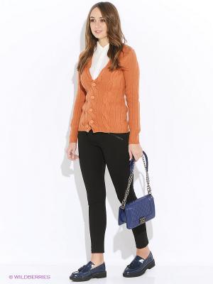Кардиган Baon. Цвет: оранжевый
