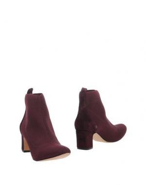 Полусапоги и высокие ботинки ANCARANI. Цвет: красно-коричневый