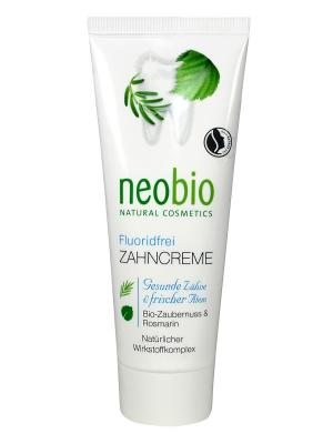 Neobio зубная паста без фтора. Цвет: бежевый