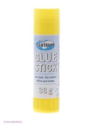 Клей-карандаш 36 гр. Centrum. Цвет: желтый