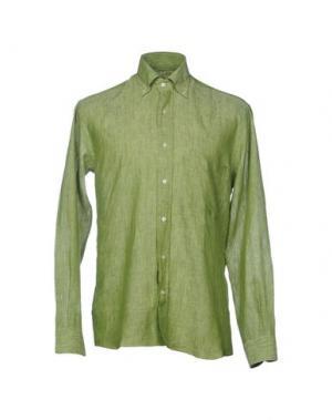 Pубашка HARRY & SONS. Цвет: зеленый